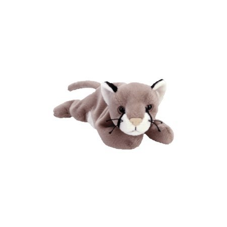 Canyon the cougar,  Beanie Baby - Retired