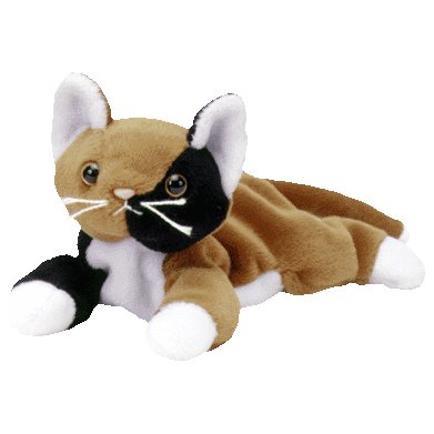 Chip the calico cat,  Beanie Baby - Retired