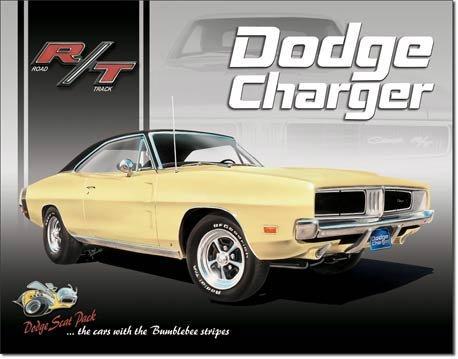 Dodge Charger metallikilpi