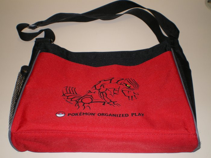 Pokemon Organized Play POP groundon Messenger Bag