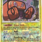 Secret Rare Holo Frost Rotom Rising Rivals RT2
