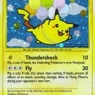 Secret Rare Holo Flying Pikachu Rising Rivals 113/111