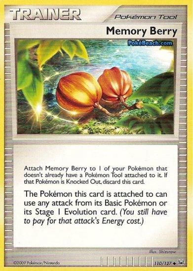 Non-Holo Memory Berry Platinum 110/127