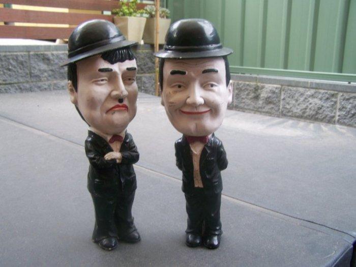 Abbott & Costello Dolls, Figurines (H) 400mm