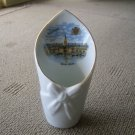 Vintage France Veritable Porcelaine Saintt Malo  Vase.