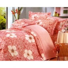 4PCS Queen 100% Cotton Printing Bedding Comforter Set