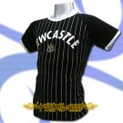 NEWCASTLE BLACK FOOTBALL COOL TEE T-SHIRT SOCCER Size M / L50