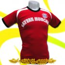 BAYERN MUNCHEN RED ATHLETIC FOOTBALL T-SHIRT SOCCER Size M / H34