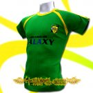 LA GALAXY GREEN FOOTBALL ATHLETIC T-SHIRT SOCCER Size M / K14
