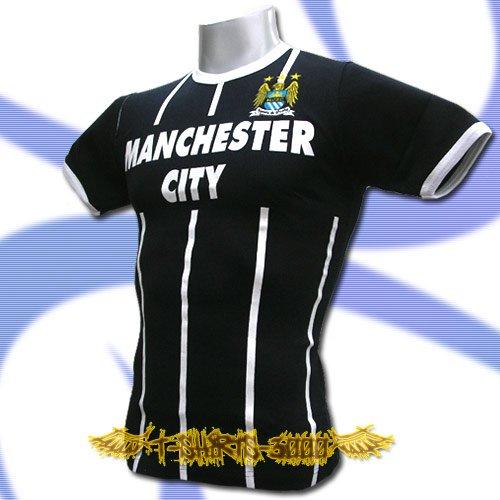 MANCHESTER CITY DARK BLUE FOOTBALL T-SHIRT SOCCER Size M / K56