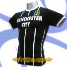 MANCHESTER CITY DARK BLUE FOOTBALL T-SHIRT SOCCER Size M / K56