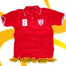 LIVERPOOL RED SOCCER POLO T-SHIRT FOOTBALL Size M / G42