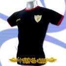 LIVERPOOL GOLD DARK BLUE FOOTBALL T-SHIRT SOCCER Size M / i35