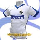 INTER MILAN WHITE SOCCER V NECK T-SHIRT FOOTBALL Size M / J96