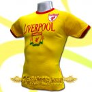 LIVERPOOL YELLOW FOOTBALL COOL TEE T-SHIRT SOCCER Size M / J76