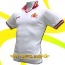 SPAIN WHITE ESPANA FOOTBALL POLO T-SHIRT SOCCER Size M / M63