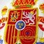SPAIN WHITE ESPANA FOOTBALL POLO T-SHIRT SOCCER Size M / M69