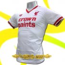 LIVERPOOL CROWN PAINTS WHITE T-SHIRT SOCCER Size M / M79