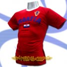 CROATIA RED ATHLETIC FOOTBALL T-SHIRT SOCCER Size L / L63