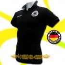 GERMANY BLACK GERMAN POLO T-SHIRT SOCCER SIZE L / M33