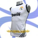 REAL MADRID WHITE COOL SLEEVELESS T SHIRT SOCCER Size M / L05