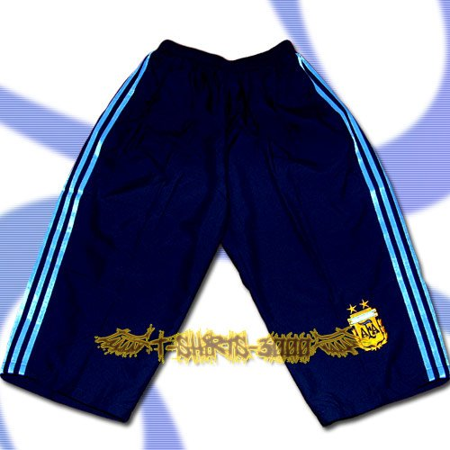 ARGENTINA DARK BLUE FOOTBALL COOL SHORTS SOCCER / H28