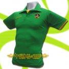 LA GALAXY GREEN FOOTBALL POLO T SHIRT SOCCER Size M / K39