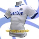 EVERTON WHITE SOCCER TEE T SHIRT FOOTBALL Size M / L47