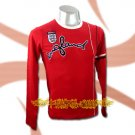 ENGLAND RED LONG SLEEVE SOCCER T SHIRT FOOTBALL Size M / A03