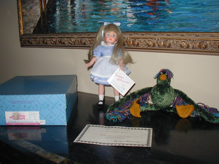 Alice and the Jabberwocky - 60S Limited Edition  - Madame Alexander  Doll Alice in Wonderland