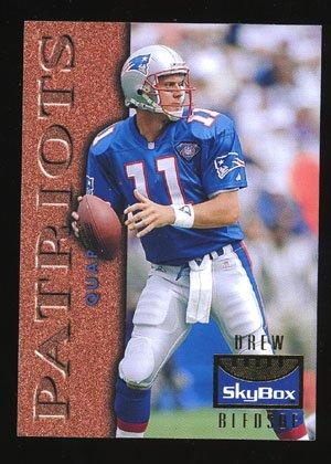 Drew Bledsoe 1995 Skybox Premium # 80 New England Patriots Quaterback