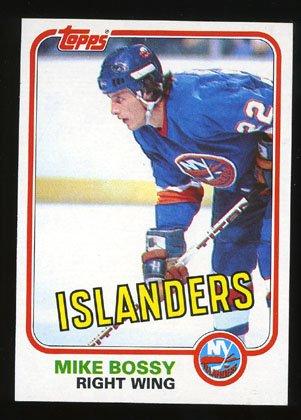 Mike Bossy 1981-82 Topps Hockey # 4 Right Wing Islanders