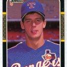 Kevin Brown Rookie 1987 Donruss # 627 Rangers Pitcher