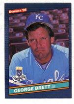 George Brett 1986 Donruss Baseball # 53 Kansas City Royals