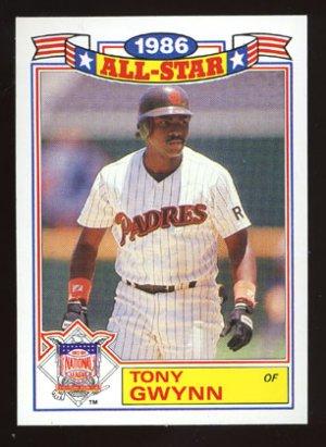 Tony Gwynn, 1987 Topps '86 All Star Glossy # 6
