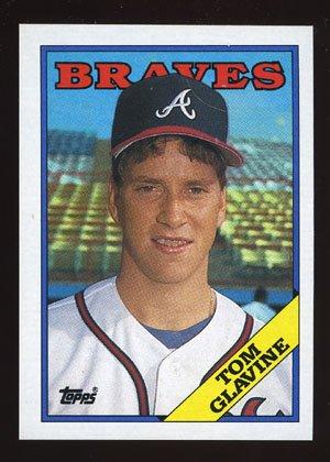 Tom Glavine Rookie 1988 Topps Baseball # 779 Pitcher Atlanta Braves