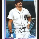 Kirk Gibson 1982 Topps # 105 Outfield Detroit Tigers