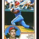 Gary Gaetti Rookie 1983 Topps # 431 Third Base Minnesota Twins