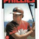 Darren Daulton Rookie 1986 Topps # 264  Catcher Philadelphia Phillies