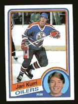 Jari Kurri 1984-85 Topps # 52 Right Wing Oilers