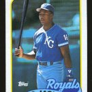 Bo Jackson 1989 Topps # 540 Outfield Kansas City Royals