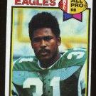 Wilbert Montgomery All Pro 1979 Topps # 85 Running Back Philadelphia Eagles
