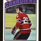 Peter Mahovlich 1976-77 Topps # 15 Center Canadiens