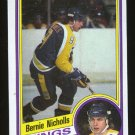 Bernie Nicholls 1984-85 Topps # 67 Center Kings