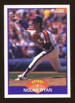 Nolan Ryan 1989 Score # 300 Pitcher Houston Astros