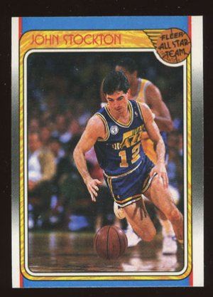 John Stocton All Star 1988-89 Fleer # 127