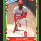 Ozzie Smith 1987 Fleer Star Sticker # 112 Shortstop St. Louis Cardinals