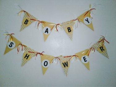 Yellow Duckie Baby Shower Banner