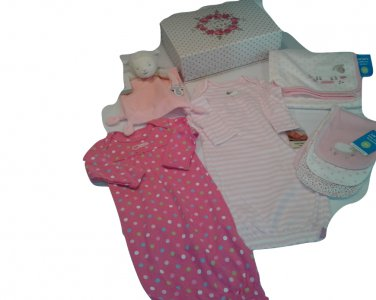 Carter's Pink Lamb Clothing Gift Box Set