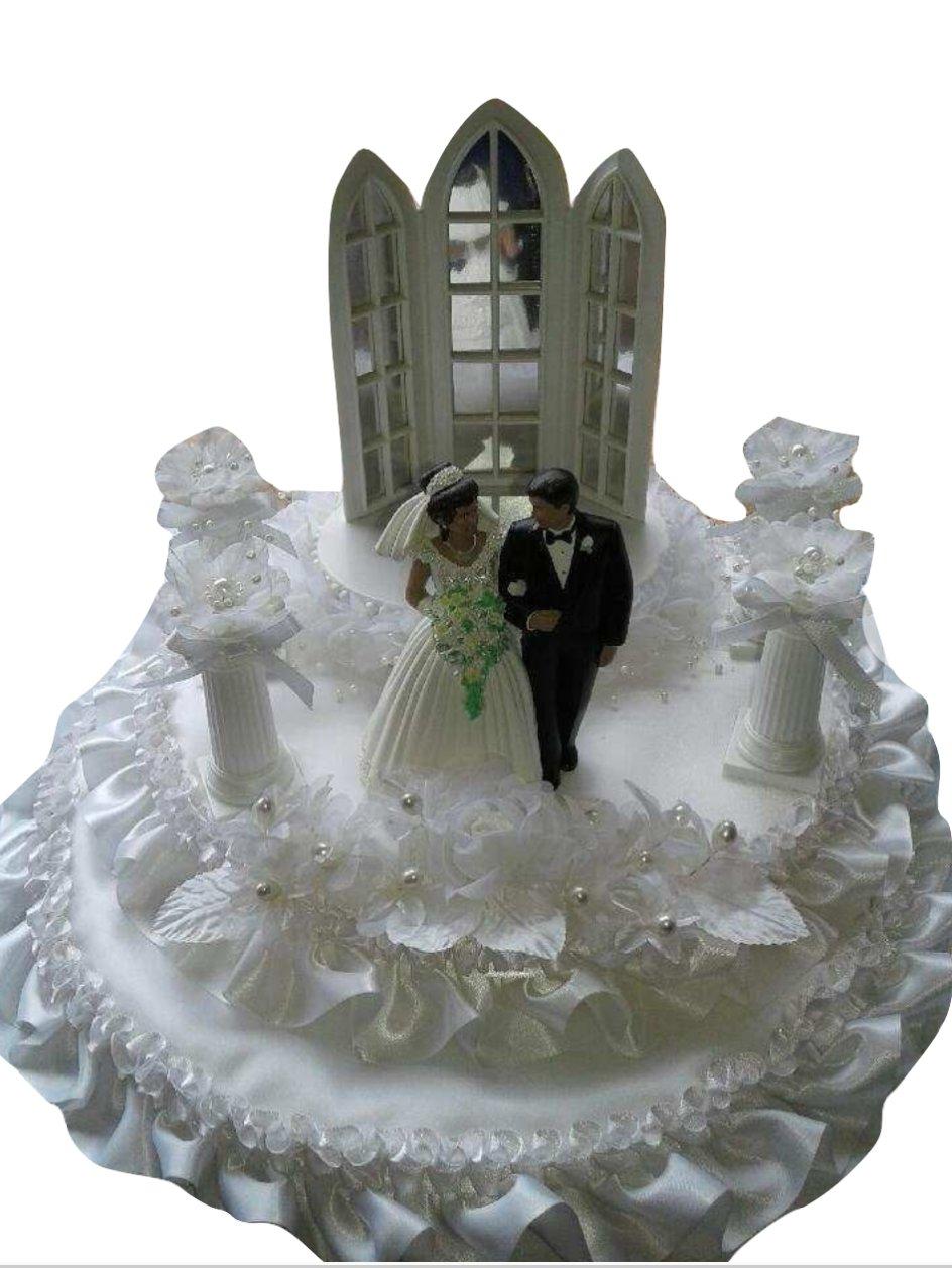Bride and Groom Wedding Centerpiece